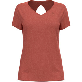 Odlo Halden Linencool T-Shirt S / S Crew Neck Damer, rød